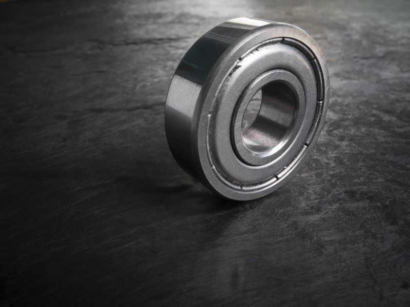 ball bearing on shale